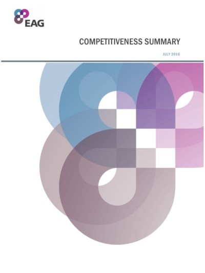 EAG Competitiveness Summary Report cover